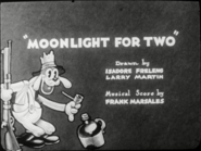 Moonlight for two-title