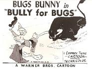Bully For Bugs Lobby Card
