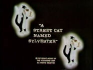 Lt a street cat named sylvester the bugs bunny & tweety show