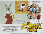 Lt bugs bunny road runner movie lobby card 5