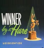 BUGS BUNNY WINNER BY A HARE