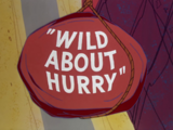 Wild About Hurry