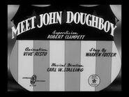 Looney Tunes - Meet John Doughboy - Bob Clampett - 1941x333
