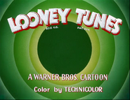 Golden Collection Volume 1 - 3. Looney Tunes Title Card