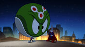 Super Rabbit and Marvin's superhero