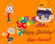 ¡Happy Birthay Luc Maxwell!