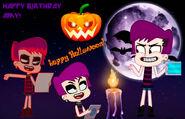 ¡Happy Halloween Amy!