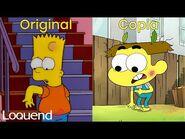 Loquendo - El episodio de Los Vecinos Green en el que le copian a Los Simpson
