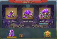 Treasure Trove 30-day deposit
