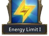 Energy Limit I