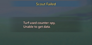 Antiscout Message