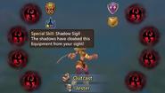 Shadow Sigil Effect