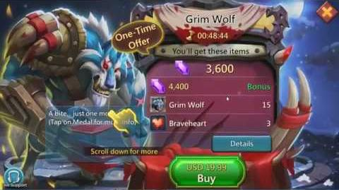 Lords Mobile Grim Wolf (new hero)