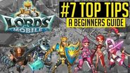 LORDS MOBILE BEGINNERS GUIDE TOP TIPS TO GROW I GOT GAMES GAMEPLAY IOS & ANDROID