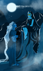 Hecate and hades old underworld