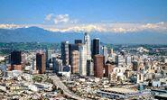 Los Angeles skyline daytime 2