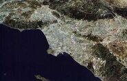Los Angeles urban sprawl