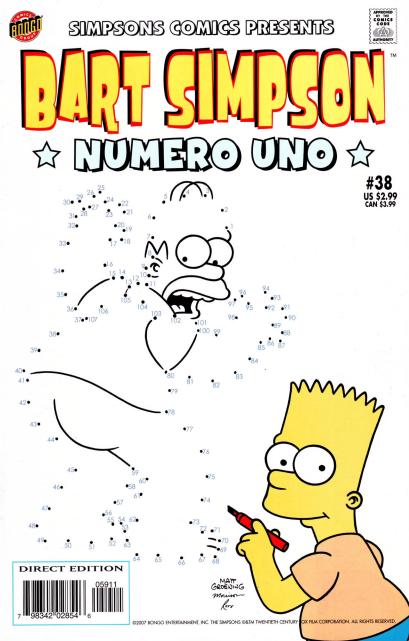Bart Simpson Comics 38