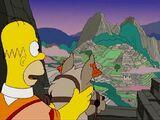 Referencias a Perú en Los Simpson