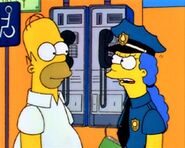 Homer y marge policia 2