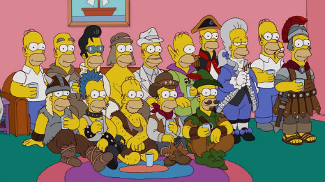 Homers en la historia
