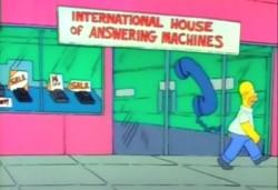 International House of Answering Machines