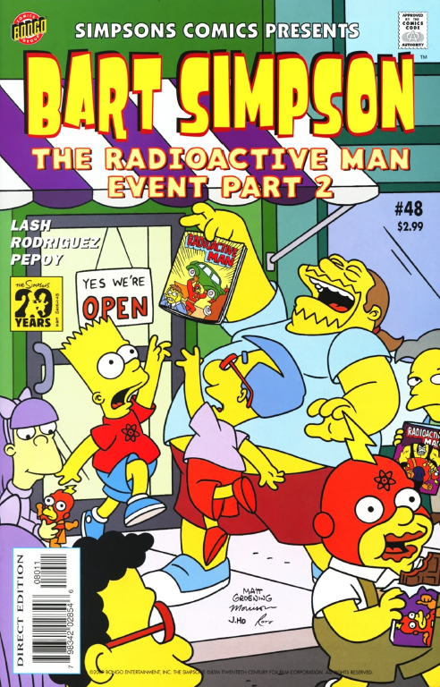 Bart Simpson Comics 48