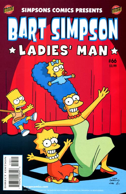 Bart Simpson Comics 66