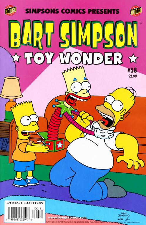 Bart Simpson Comics 58