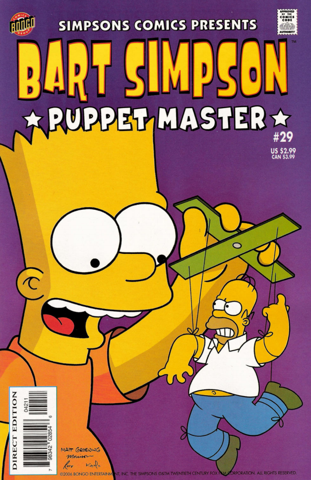 Bart Simpson Comics 29