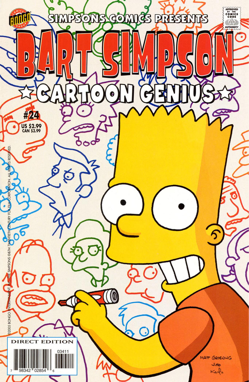 Bart Simpson Comics 24