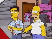 Junior y Homer