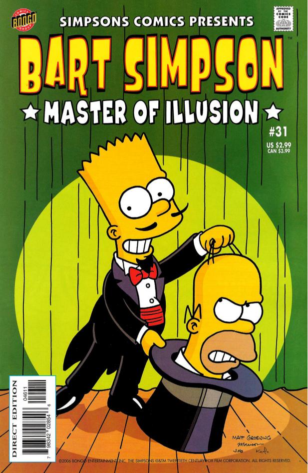 Bart Simpson Comics 31