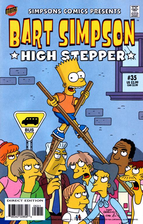 Bart Simpson Comics 35