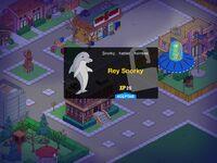 Tarjeta de presentación en los Simpsons: Tapped Out
