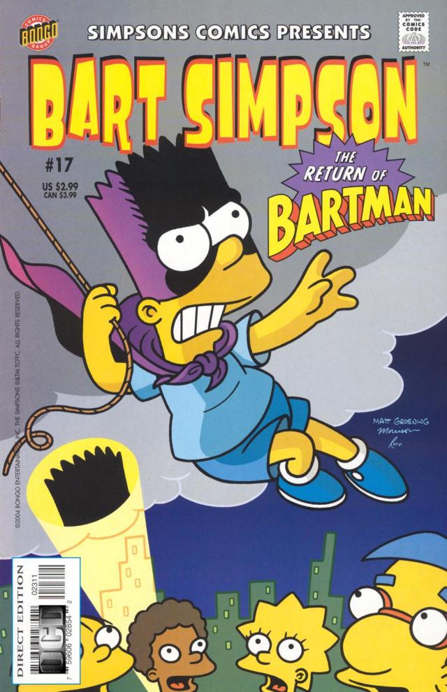 Bart Simpson Comics 17