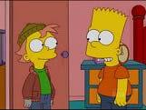 Bart junto a Charlie