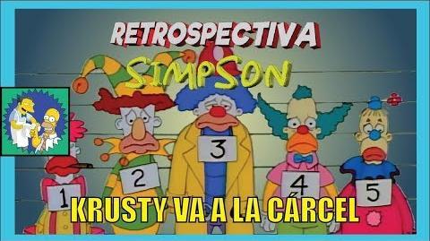 Retrospectiva Simpson Krusty va a la cárcel