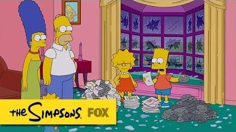 """Rock-By-Rock from """"The War Of Art"""" THE SIMPSONS ANIMATION on FOX-0"""
