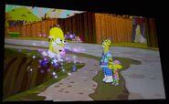 """Mr. Sparkle en """"Los Simpson: El Videojuego""""."""