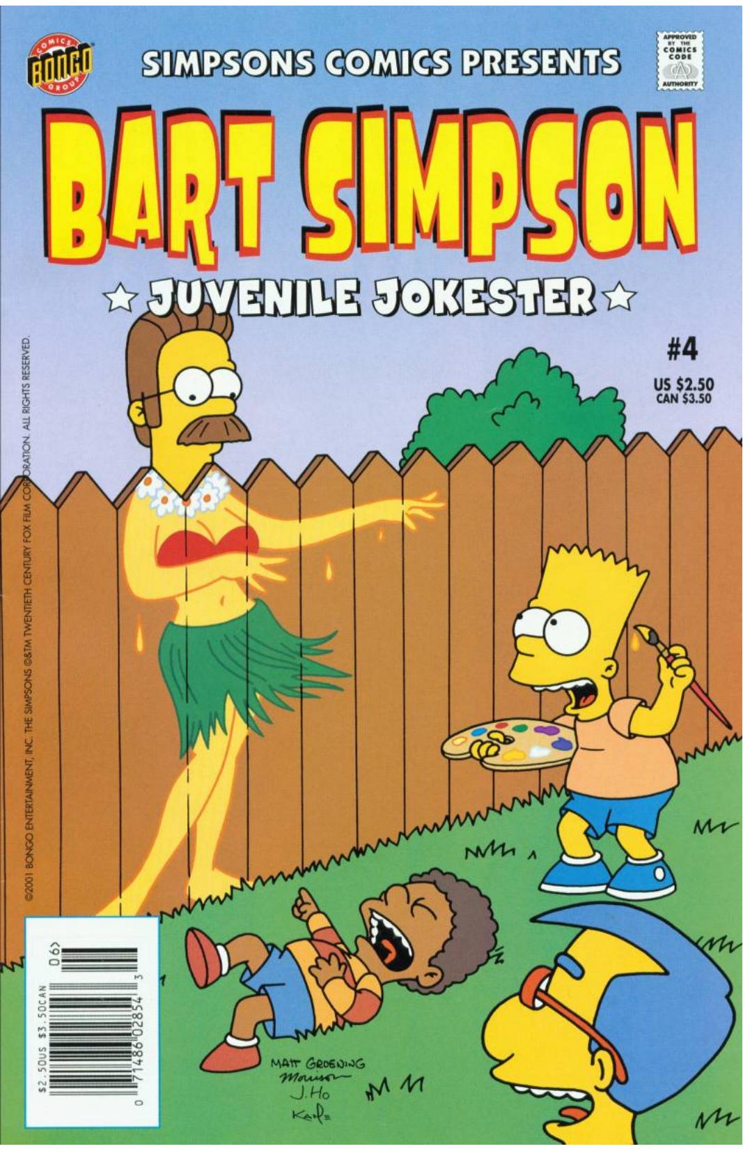 Bart Simpson Comics 4