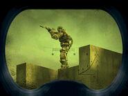 Admin Center - Mercenary fighter on the roof (Dead City, Lost Alpha)