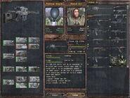 Sniper rifle (SVDm 2) - upgrade tree (Lost Alpha DC v1.4002)