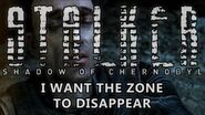 Shadow of Chernobyl Ending - I Want The Zone To Disappear