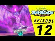 BEYBLADE BURST Episode 12- Shield Crash Menace!
