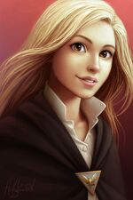 Sophie Elizabeth Foster (Ruewen) is the only elf with Brown Eyes who used to live with humans. She is protective of her friends and family.