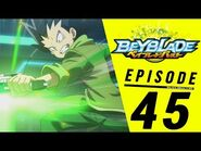 BEYBLADE BURST Episode 45- Spryzen vs Wyvron!