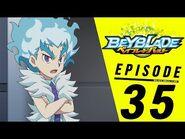 BEYBLADE BURST Episode 35- Primal Attack! Beast Betromoth!