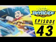 BEYBLADE BURST Episode 43- Winged Launch!