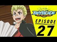 BEYBLADE BURST Episode 27- Training Camp! The Biting Stadium!